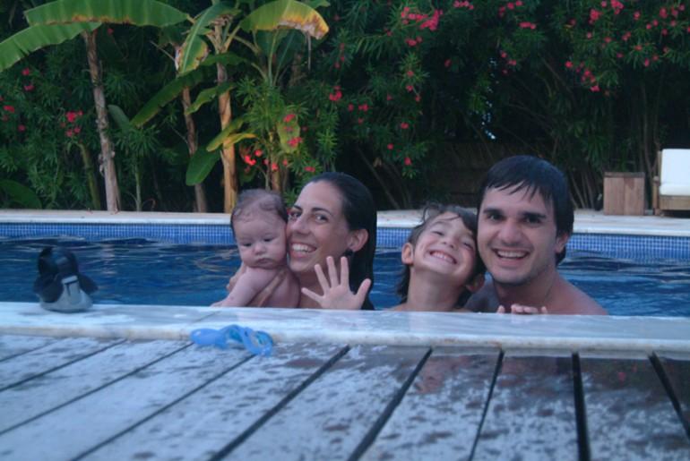 Uma semana no paraíso com um bebê – Pousada do Toque
