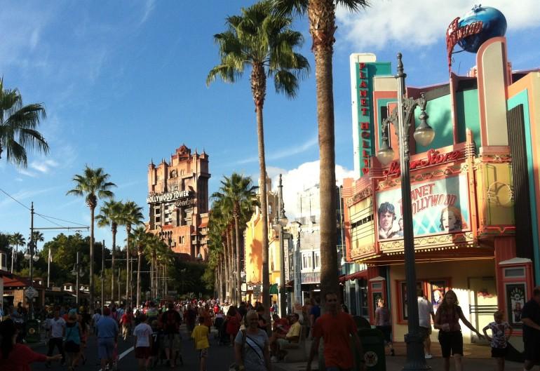 Disney's Hollywood Studios com um menino de 6 anos