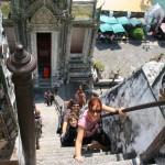 Bangkok com crianças - templos