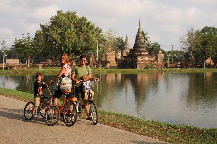 Ruínas Sukhothai - imperdível