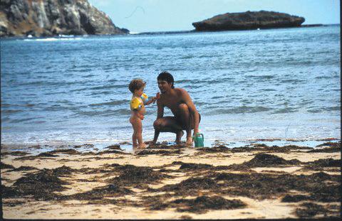 Fernando de Noronha com bebês
