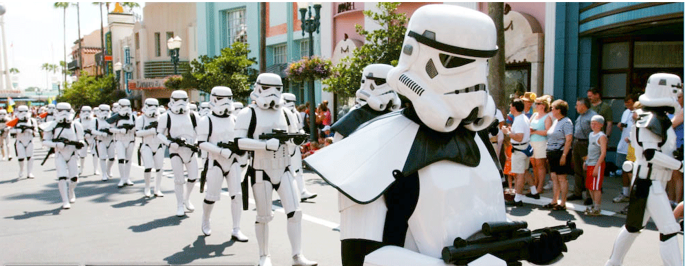 Fim de Semana Star Wars na Disney