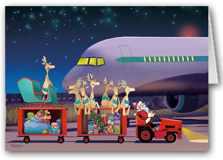 Amanhã é Natal, depois de amanhã é Reveillon.