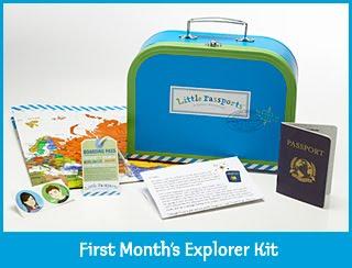 Ensinando crianças a viajar.