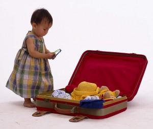 Vai viajar com seus filhos? Saiba como fazer as malas.