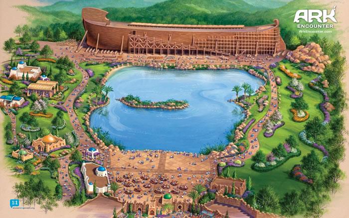 Parque temático inspirado na Arca de Noé
