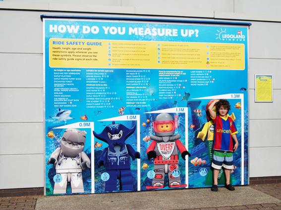 O momento mais esperado da viagem para Londres: Legoland