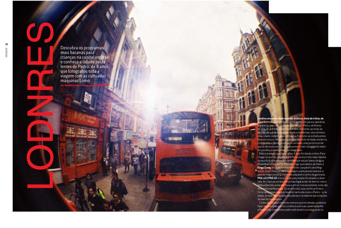 Fotos de Londres: Filho de peixe, peixinho é