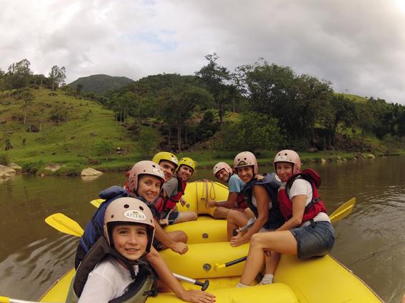 Rafting em Santo Amaro da Imperatriz – Santa Catarina
