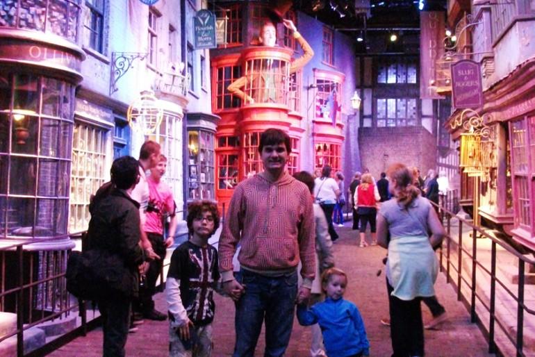 O mundo mágico do Harry Potter em Londres