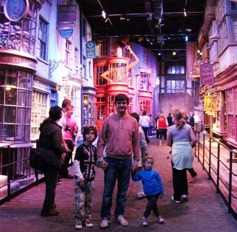 O mundo mágico do Harry Potter em Londres