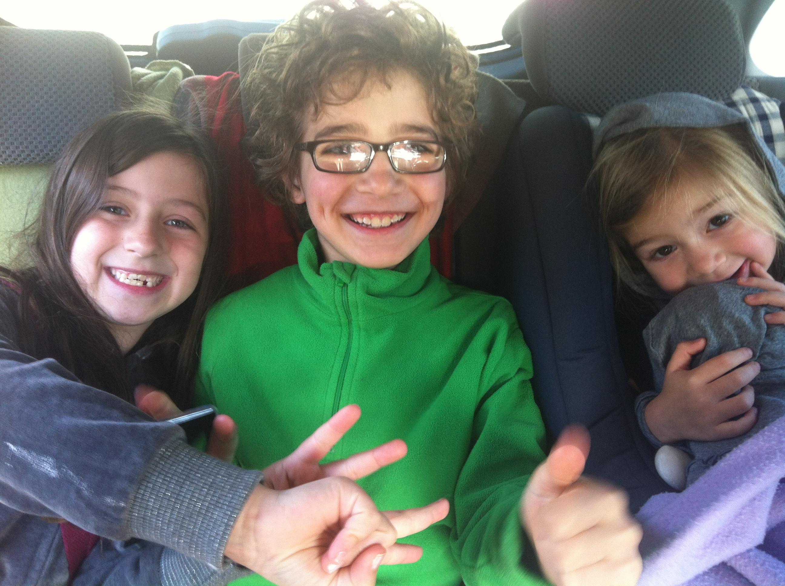 Passatempos para viajar de carro com crianças