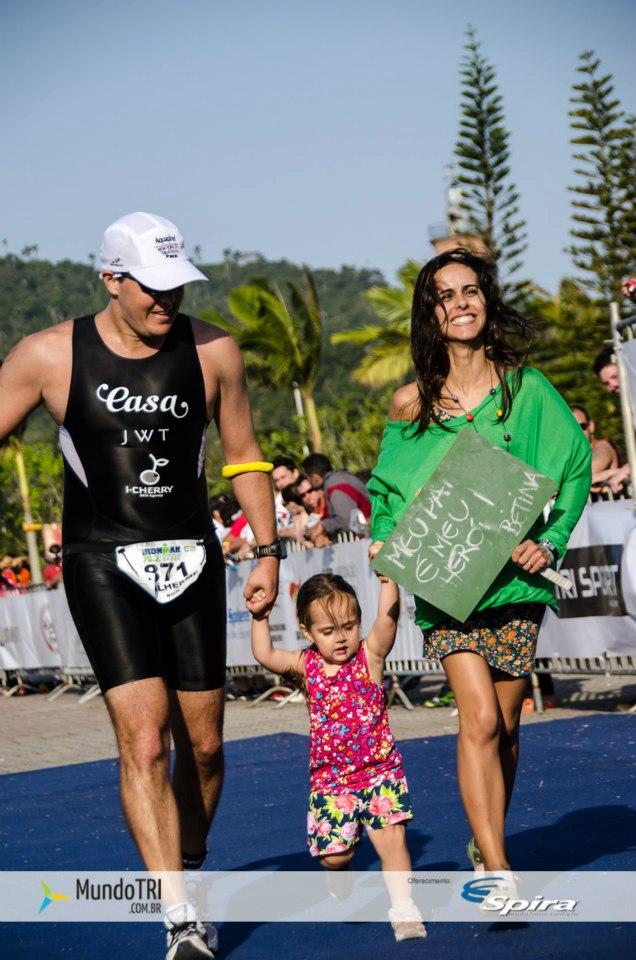 Nova York + triathlon + mar no Caribe + filha pequena = diversão!