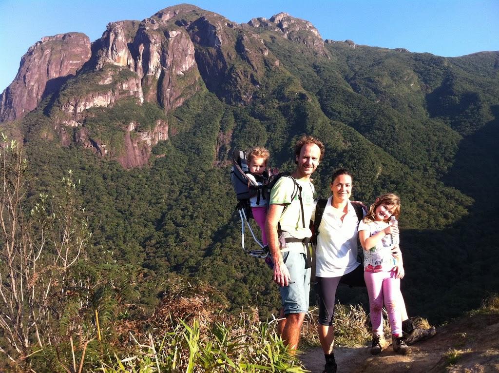 Turismo aventura com filhos