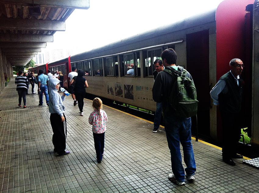 Curitiba com crianças no feriado