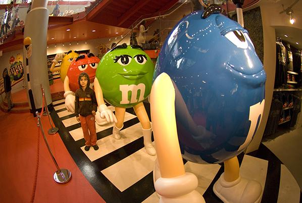 M&M World – a loja conceito da M&M