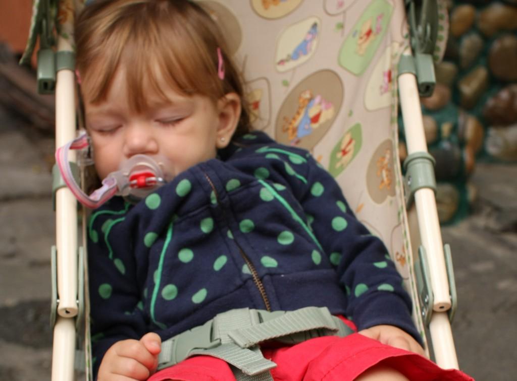 Viajando com bebês - a hora da soneca