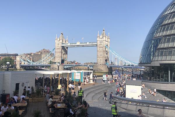 Verão em Londres
