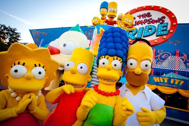 Nova atração da Universal em Orlando: Springfield