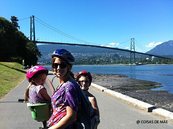 Vancouver com crianças