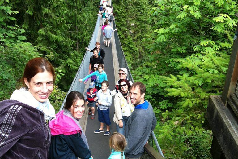 Capilano Bridge (Canadá) – a maior ponte pensil do mundo