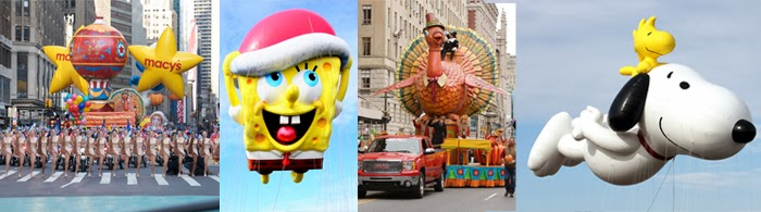 Thanksgiving Parade em Nova York