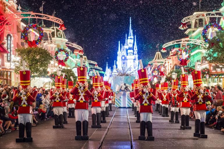 Como é o Natal na Disney?