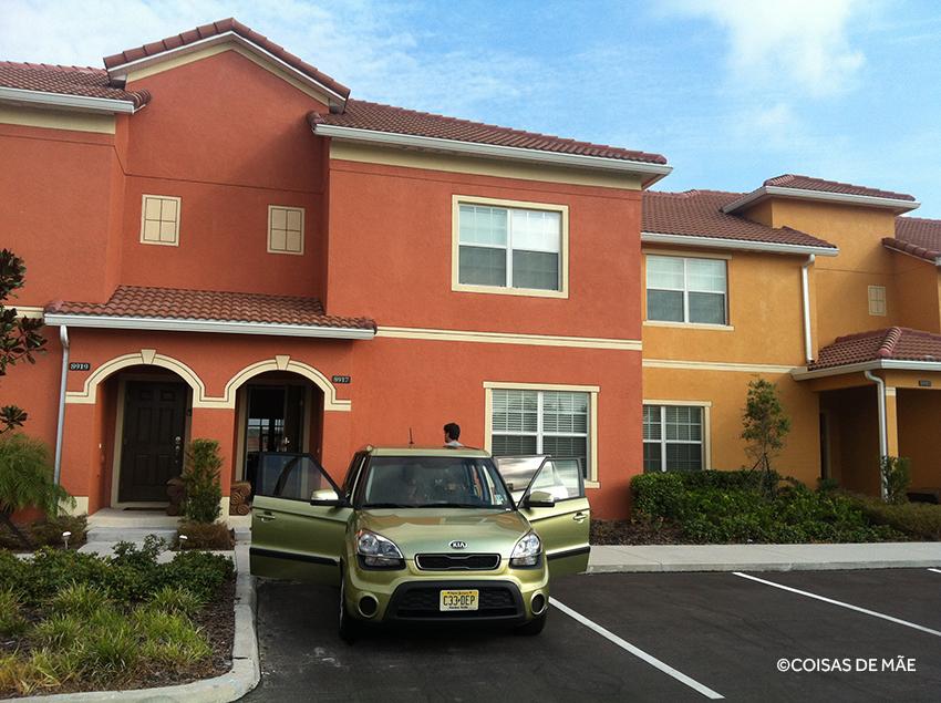 Como é alugar uma casa em Orlando