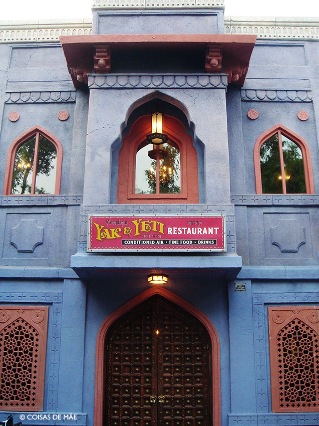 Meu restaurante preferido na Disney: Yak e Yeti no Animal Kingdom