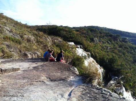 Camping com crianças no Cânion do Guartela (Paraná)