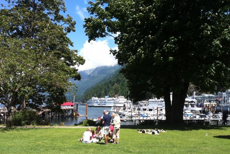 Ferry para Victoria com Pic Nic (Canadá)