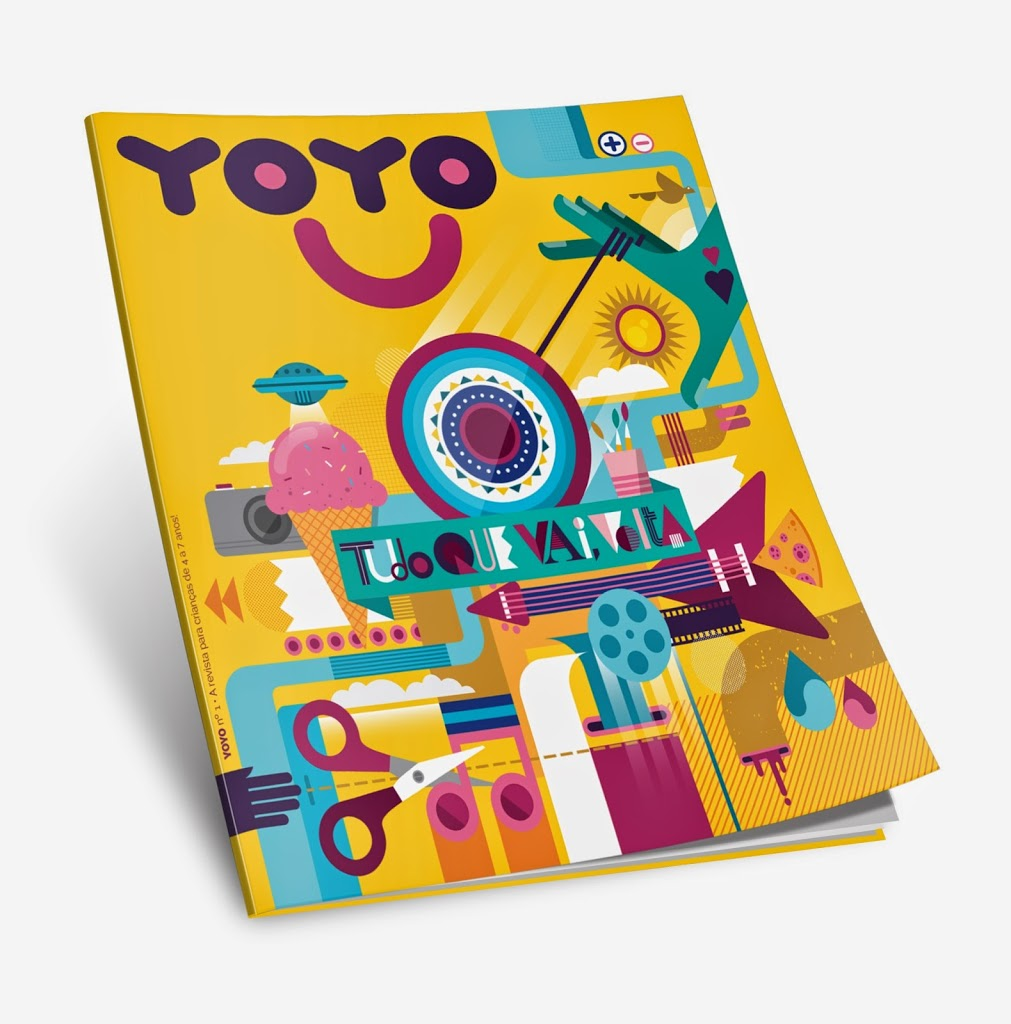 Nova Revista para Crianças – YOYO + Dica de Atividade em São Paulo