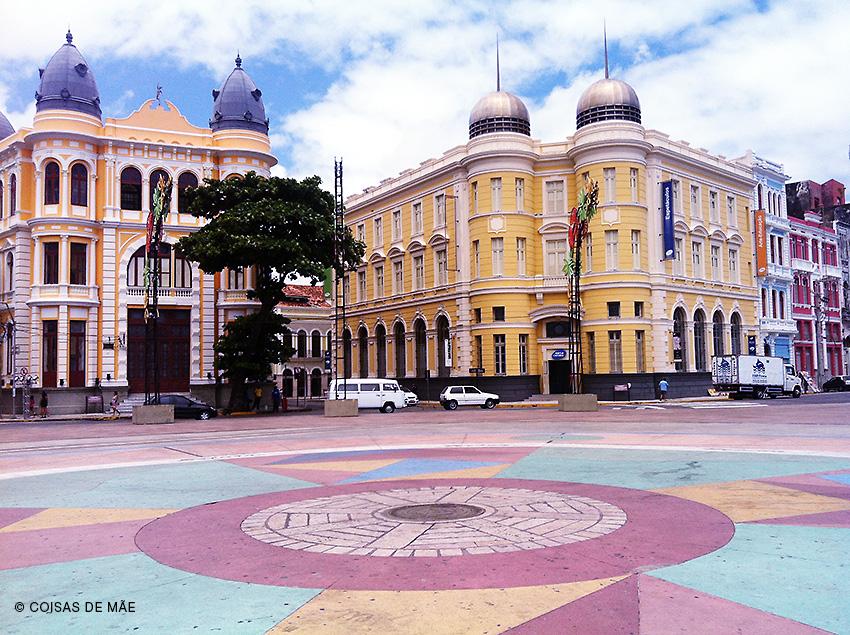 Recife a caminho das praias de Pernambuco