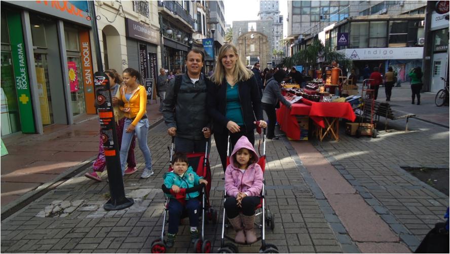 Grandes viagens com filhos pequenos