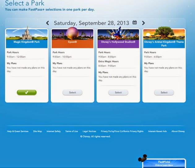 Como agendar o FastPass+ da Disney
