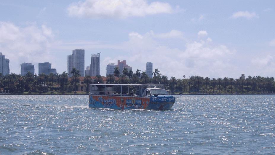 Miami com crianças: Duck Tours South Beach