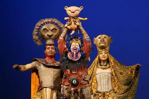 Musical Broadway para crianças