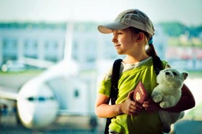 O que fazer? – Documentos para Criança Viajar
