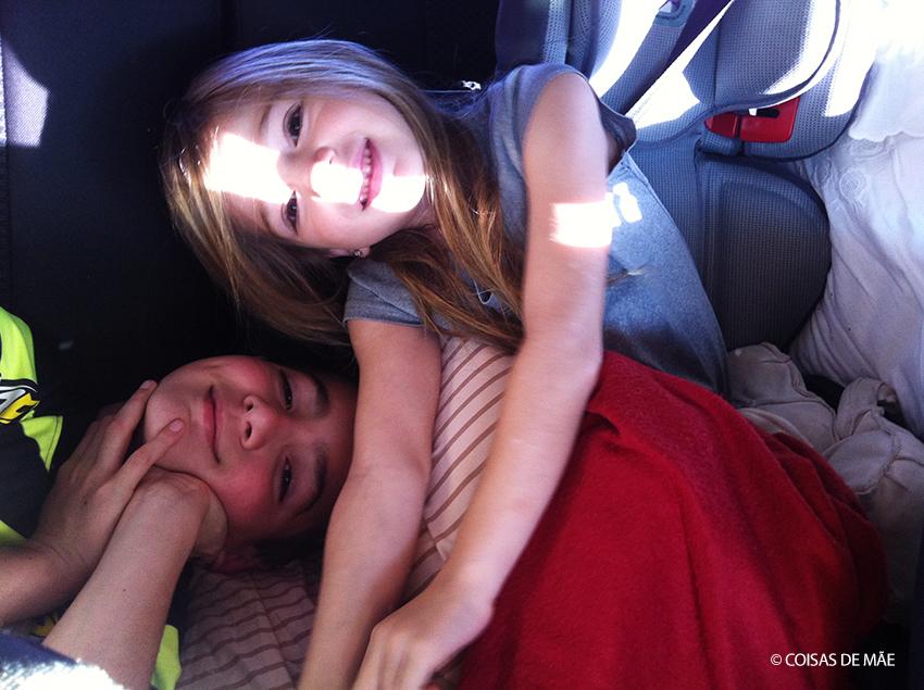 Viagem de carro para o Pantanal com crianças