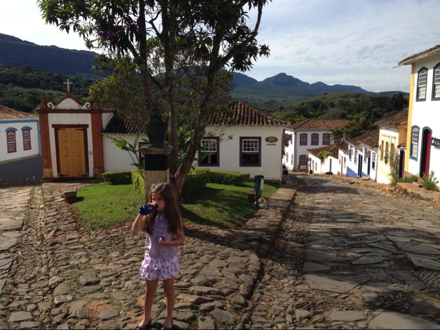 Cidades históricas de Minas com crianças – Tiradentes
