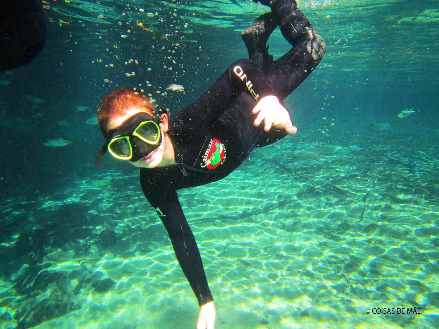 Mergulho em Bonito