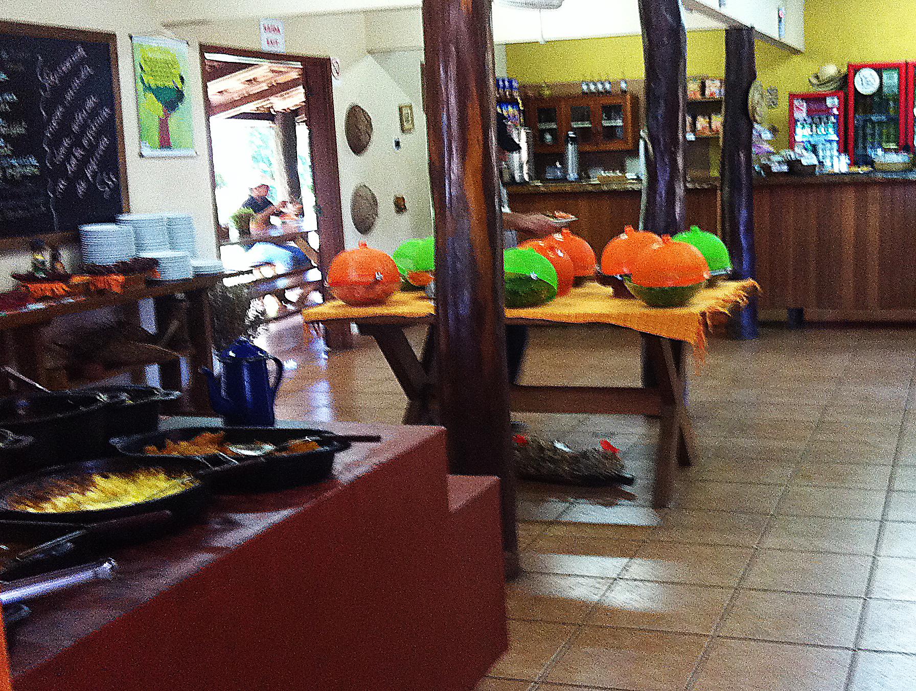Restaurante no Rio da Prata