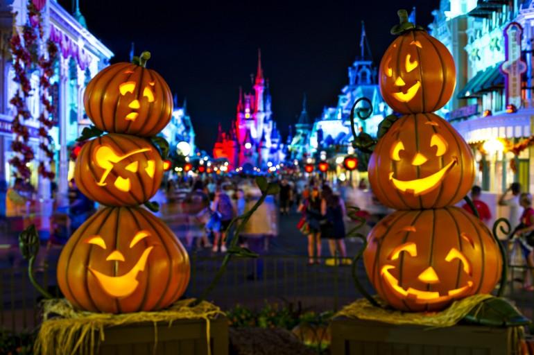 Festa de Halloween na Disney 2017