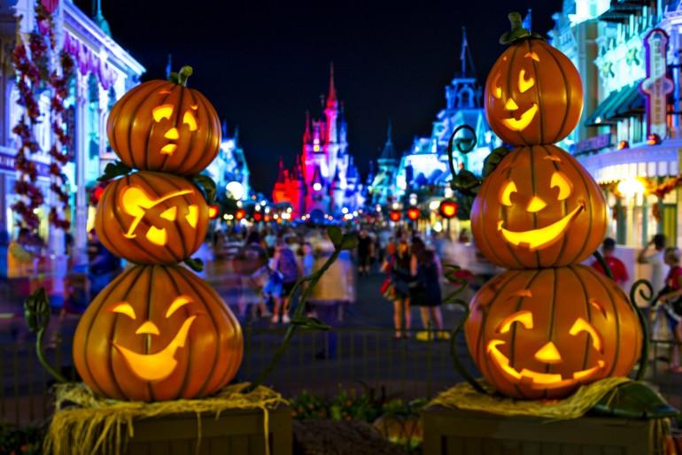 Festa de Halloween na Disney 2016