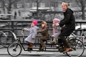 Viagem com filhos - Amsterdam com crianças