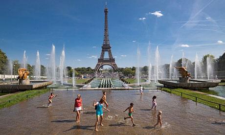 Verão em Paris com as Crianças