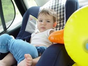 Viagem de carro com bebês