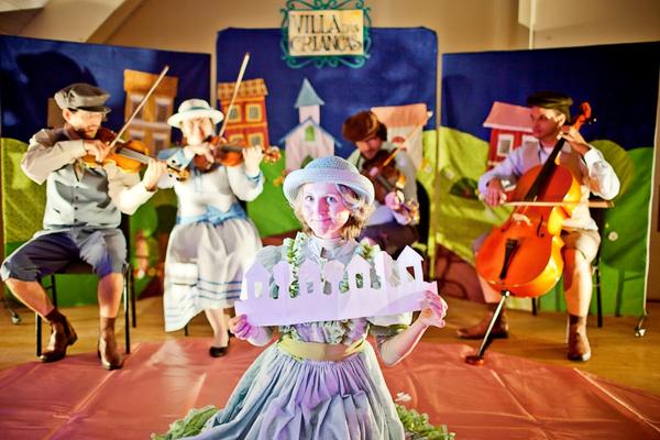 Crianças em Curitiba: Musical de Villa Lobos
