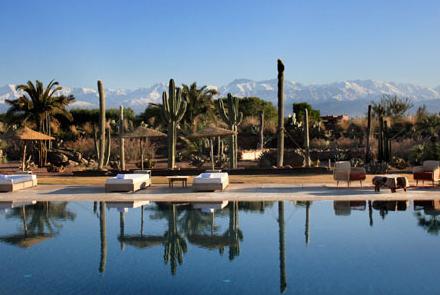 Hotel com crianças no Marrocos