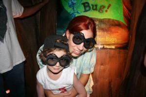 Disney com Crianças It's Though to be a Bug Vida de Inseto Animal Kingdom
